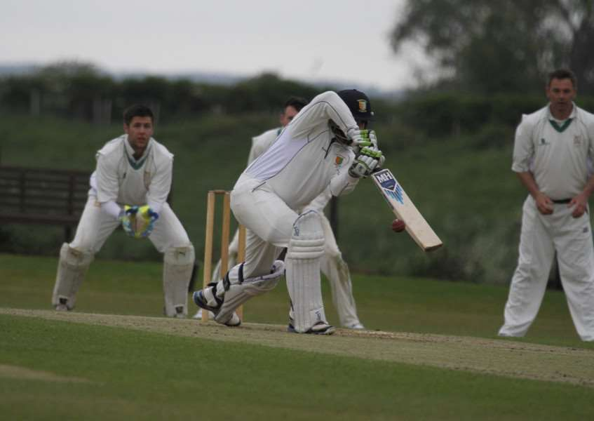 Action from Uppinham Town v Stamford Town in the Rutland League Division One. Photo: Geott Atton EMN-150526-123206001