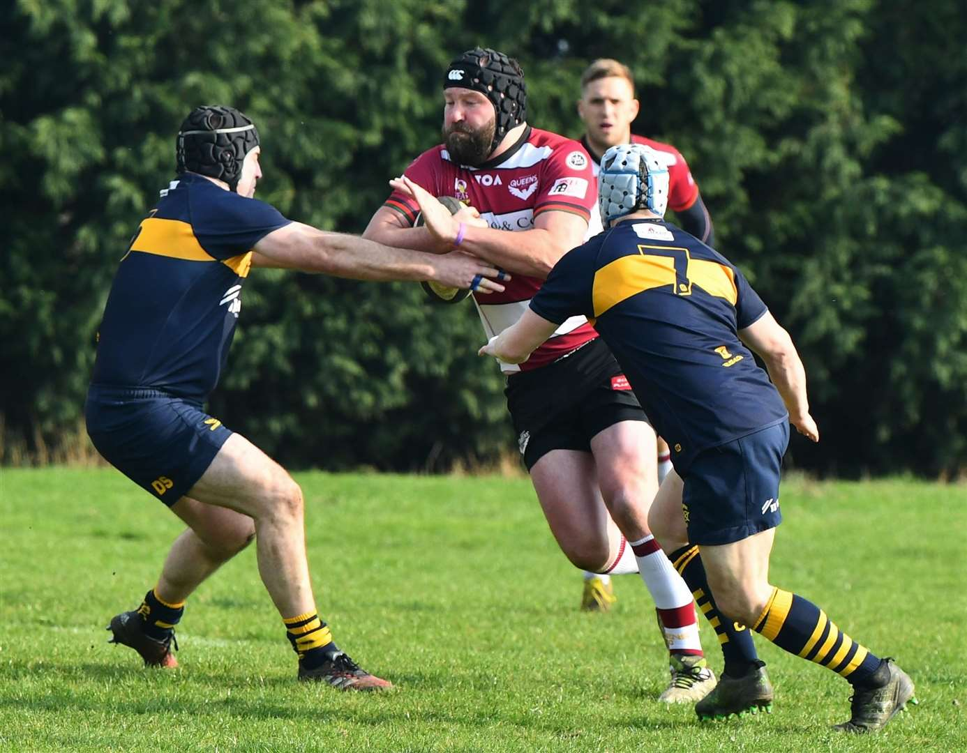Bourne cruised to a 50-14 win at the weekend against Bedford Queens. Photo: Alan Hancock (8163105)
