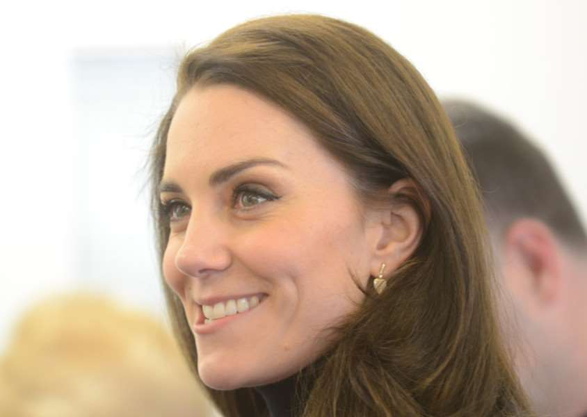 HRH the Duchess of Cambridge visiting RAF WIttering to see the work of local air cadets