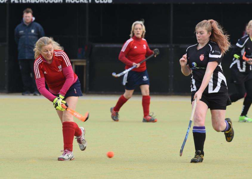City of Peterborough ladies 4ths hockey v Bourne Deeping 2nds EMN-160213-170851009