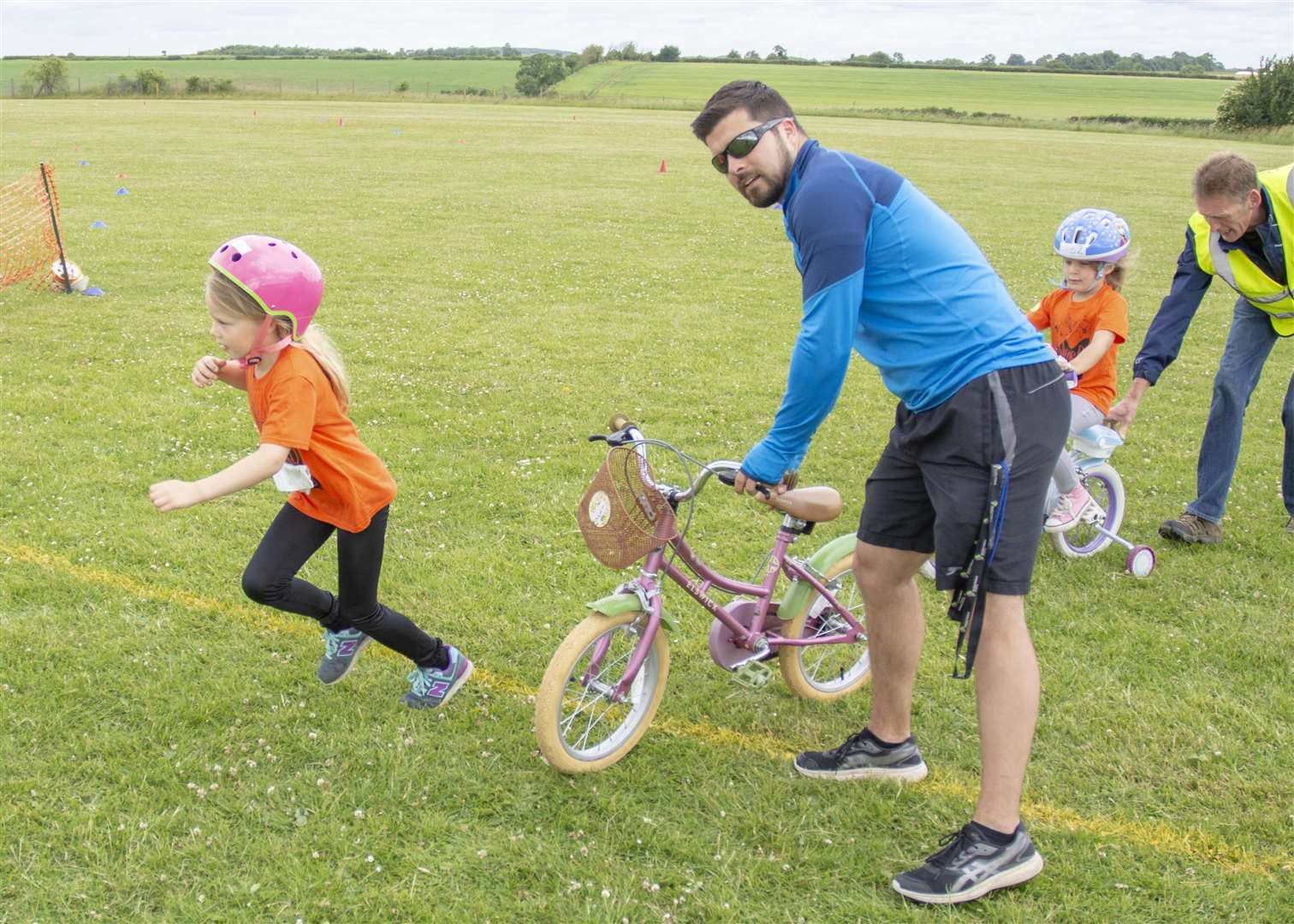 The Stamford Scooterthon took place at the weekend with 131 children from seven primary schools taking part (2584194)