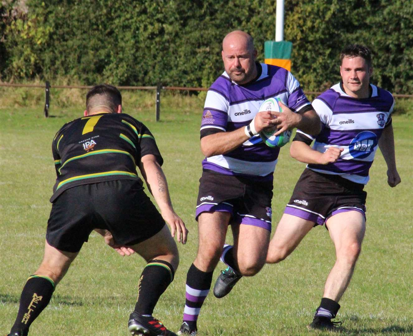 Action from Stamford's defeat at Mellish. Photo: Darren Dolby (17301753)