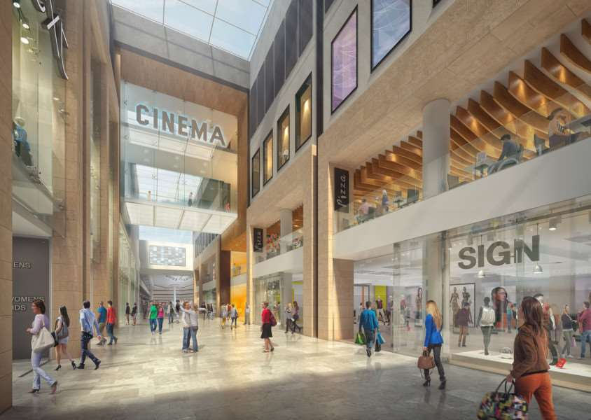 How the new look cinema should appear in the Queensgate centre.