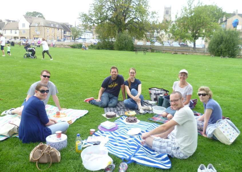 Members of Stamford Clandestine Cake Club enjoy A Novel Idea on The Meadows EMN-150826-163849001