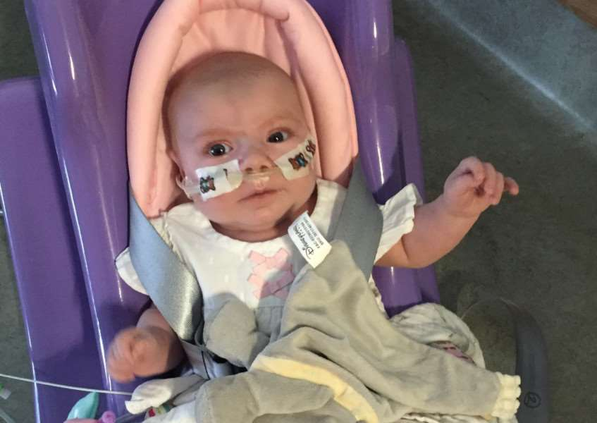 Madison Parry was born with a serious heart defect EMN-160914-162840001