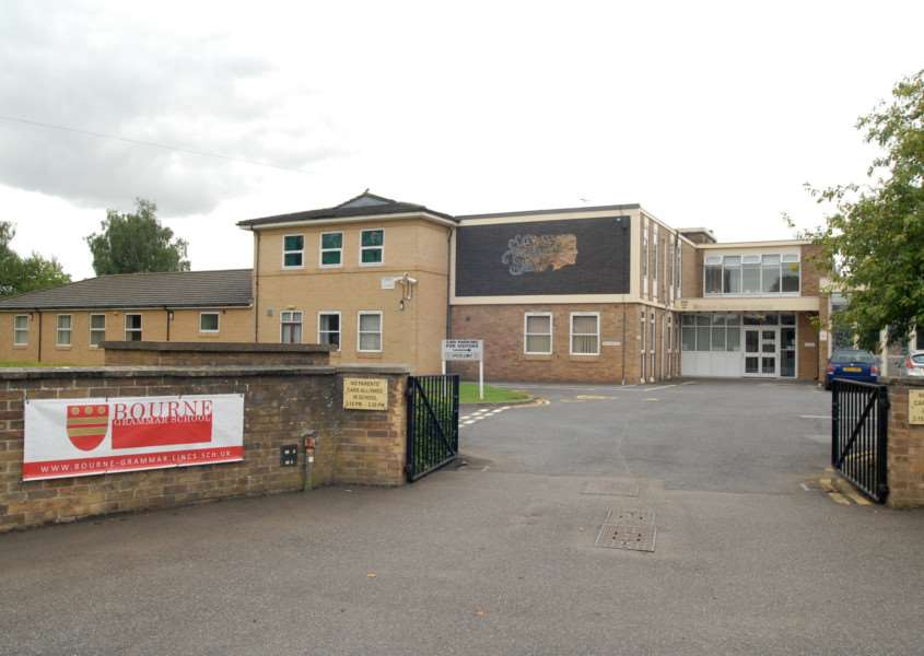 Bourne Grammar School, South Road, Bourne. File picture.'Photo: MSMP060813-008ow ENGEMN00120130608181020