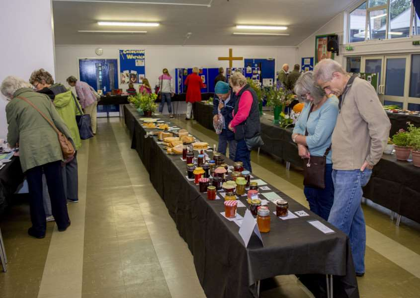 North Luffenham Produce Show 2017. By Lee Hellwing.
