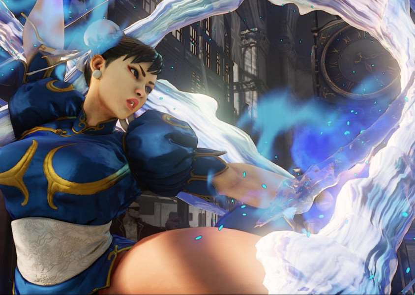 Classic character Chun-Li once again appears in the latest Street Fighter
