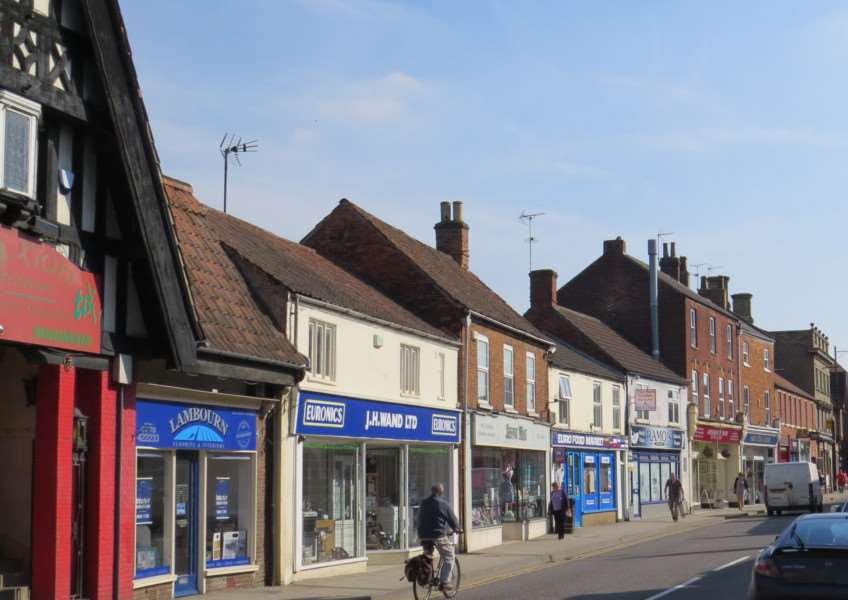 North Street, Bourne. Photo: Anthony Jennings