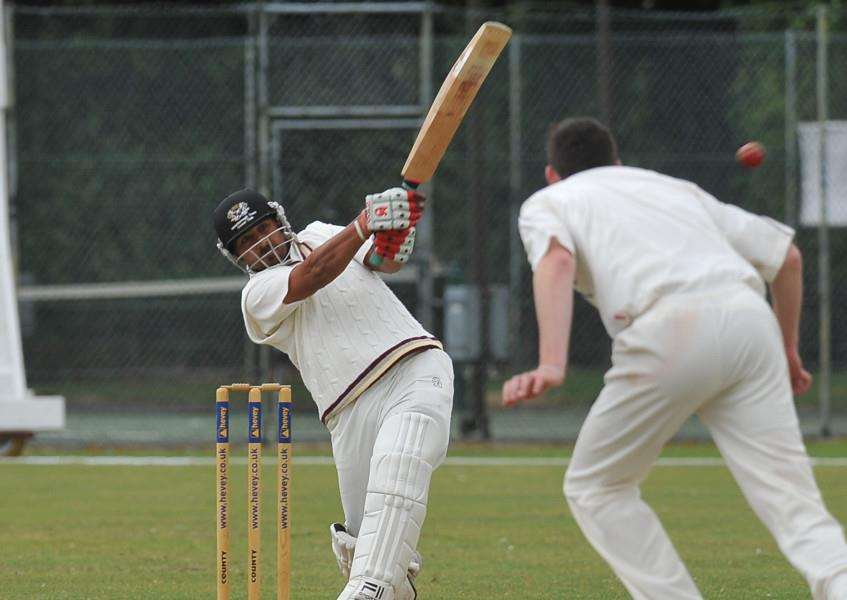 Asim Butt scored 43 for Barnack against Ufford Park.