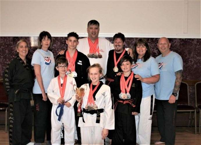 Students at the Annabel Murcott Schools of Tae Kwon Do returned with a staggering medal haul from the European Championships in Croatia. (11248287)