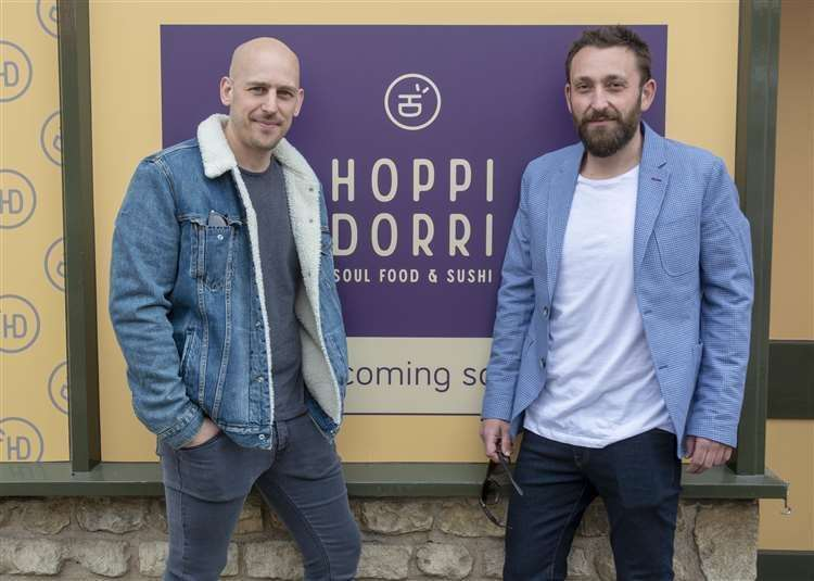 Owners Chris Riddle and Sam Letteri who will be opening Hoppi Dorri next week (13886127)