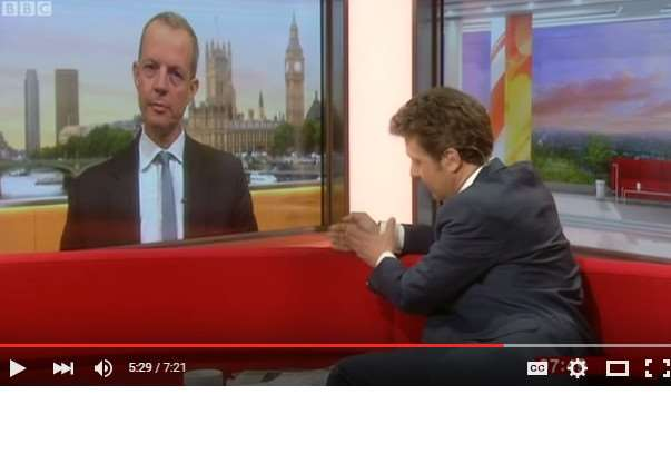 MP Nick Boles in heated interview with BBC Breakfast's Charlie Stayt.