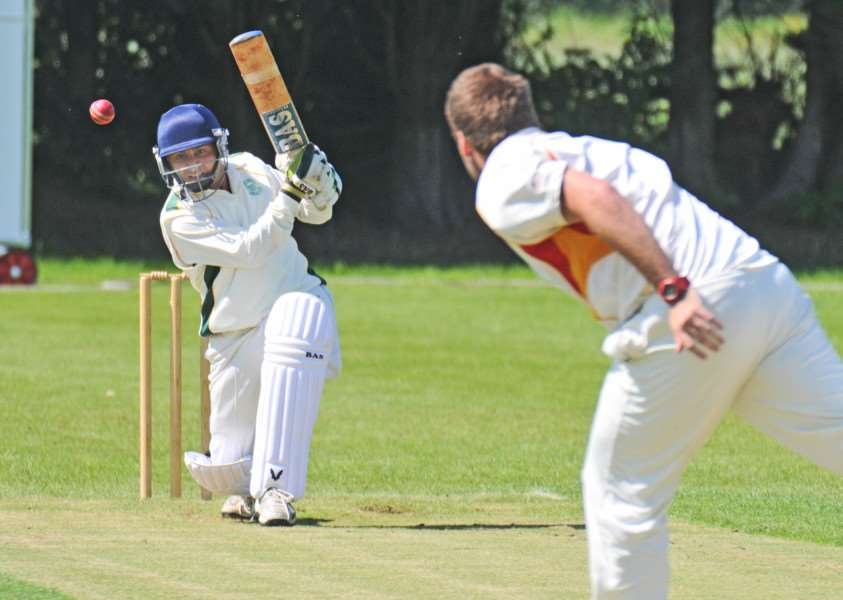 Meli Adatia delivered a good all-round display for Market Deeping against Woodhall Spa.