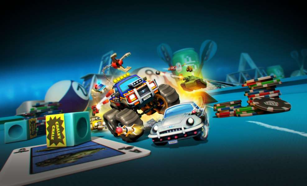 Miniature multiplayer mayhem set to return with new Micro Machines