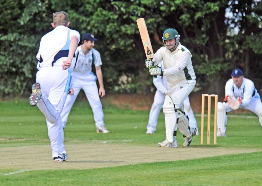 Chris Jones scored 55 for Market Deeping against Bracebridge Heath.