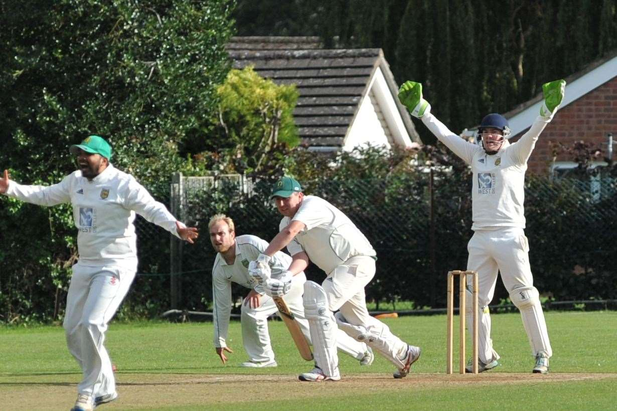 Oakham defeated Kibworth 2nds on Saturday. Photo: Alan Walters (16298756)