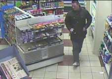 The man police want to speak to about the theft of groceries from the BP petrol station in Scotgate, Stamford, on February 22, 2015. Incident 287 of February 22, crime reference 3215009862. EMN-150316-163646001