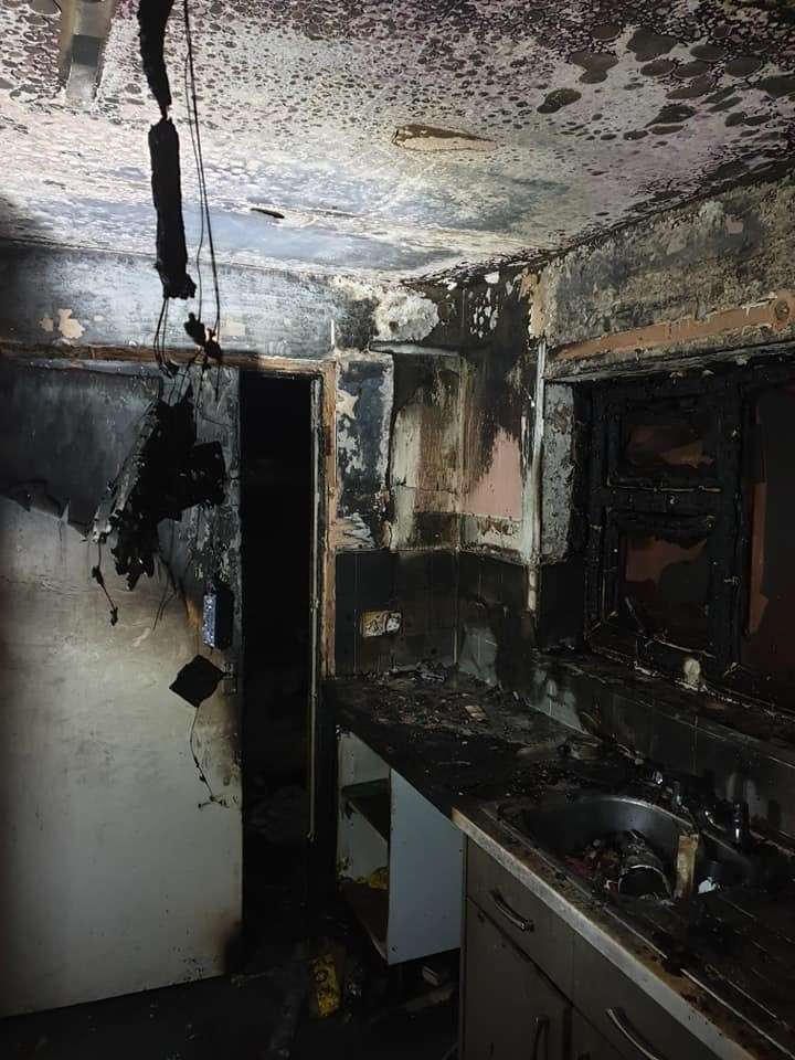 Oakham House Fire Caused By Chip Pan Leads To Safety