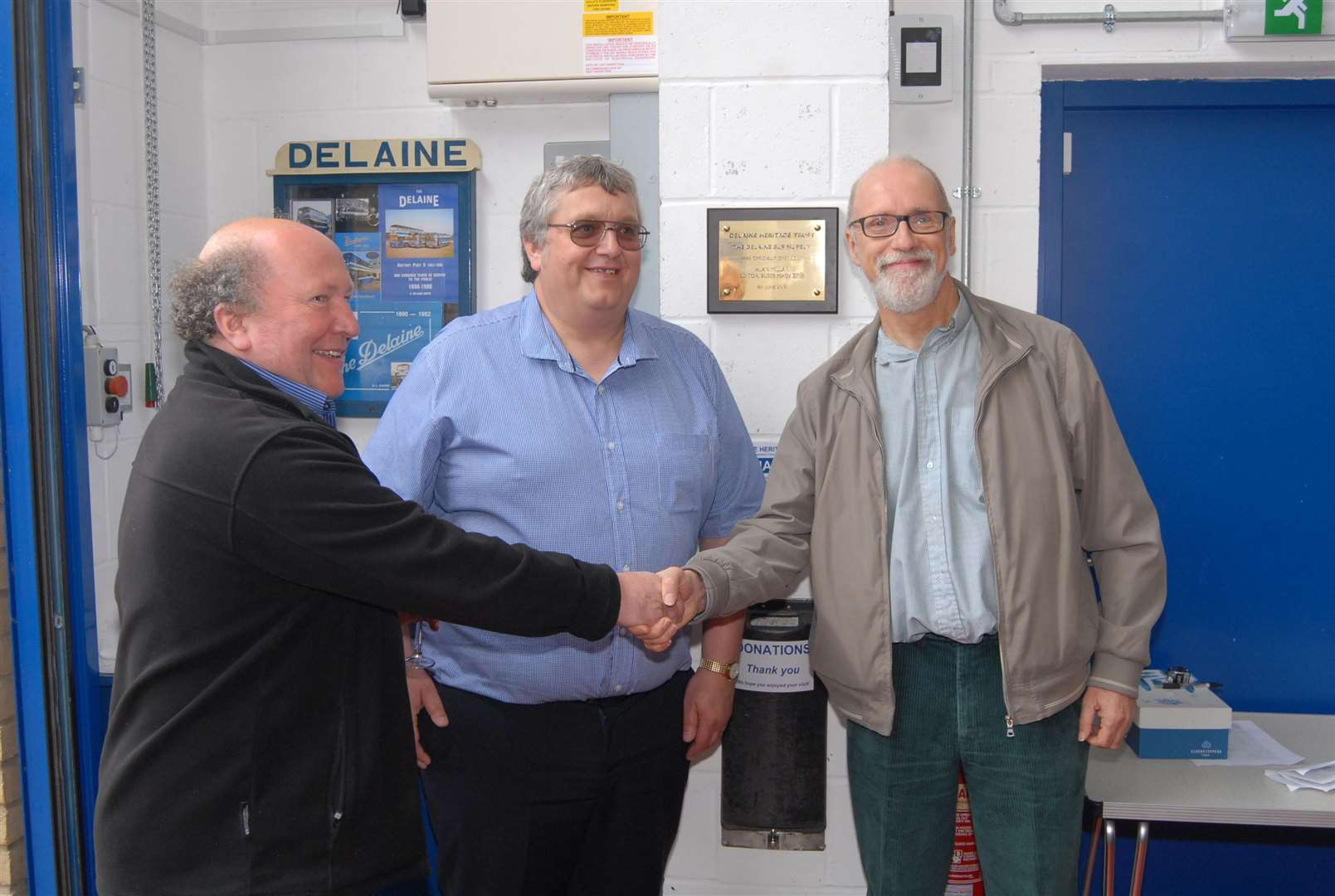 Kevin and Anthony Delaine-Smith with Alan Millar (12057414)