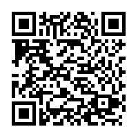 The QR code offers a secure way to reach the donations page