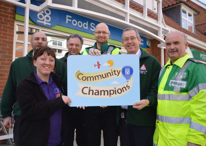 LIVES are just one group that has benefitted from Lincolnshire Co-ops Community Champions EMN-150421-100301001