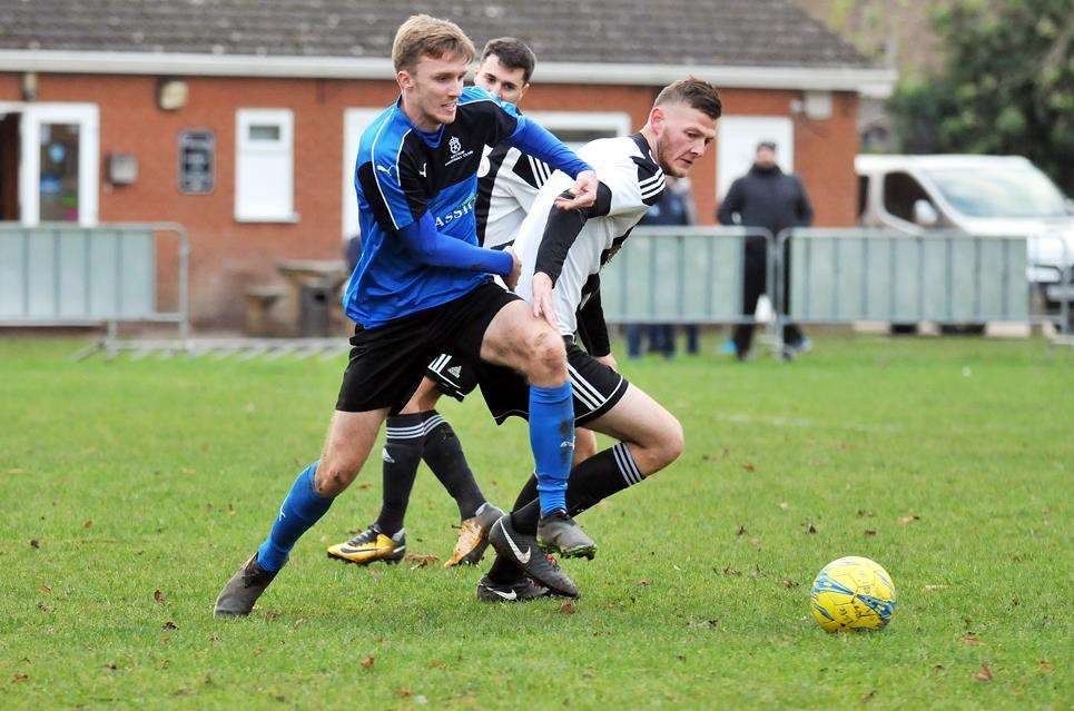 Tom Mann scored twice for Ketton in Saturday's 4-1 home win. (5752397)