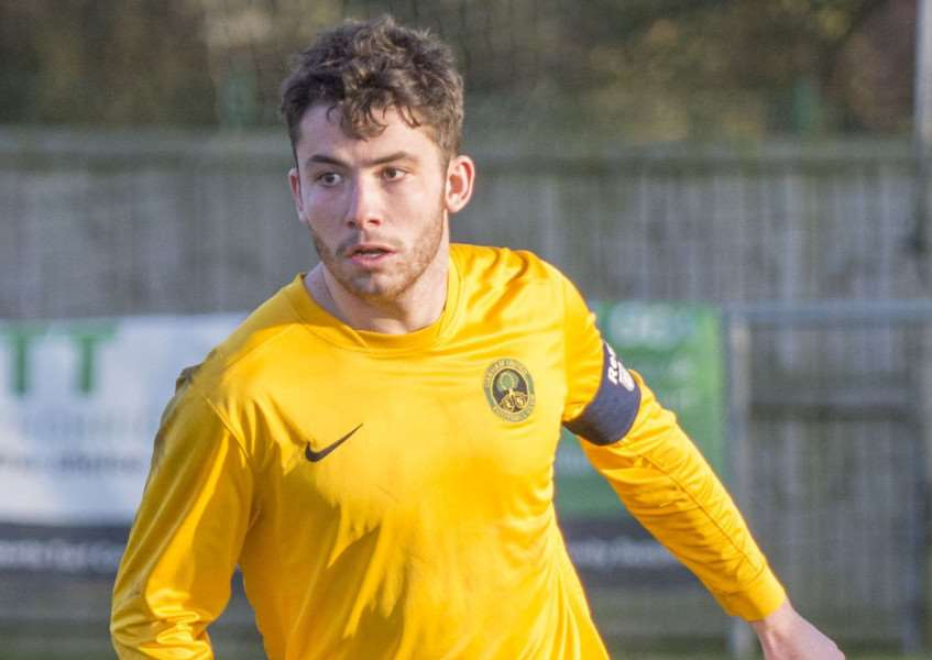 Cameron Brookes scored four times in Oakham's 9-1 win.
