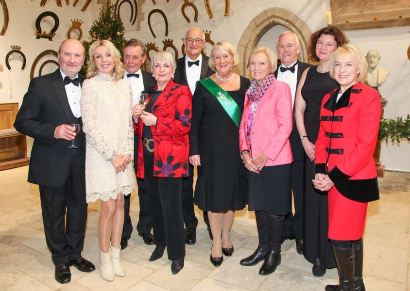 Mary Berry and other celebrity readers at Oakham's NSPCC Christmas concert. Photo: Rob Davis, Rutland Pride Magazine EMN-160212-110745001