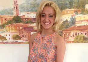 Alisha Bartolini on her 18th birthday - her heartbroken mum is supporting the Meningitis Now campaign