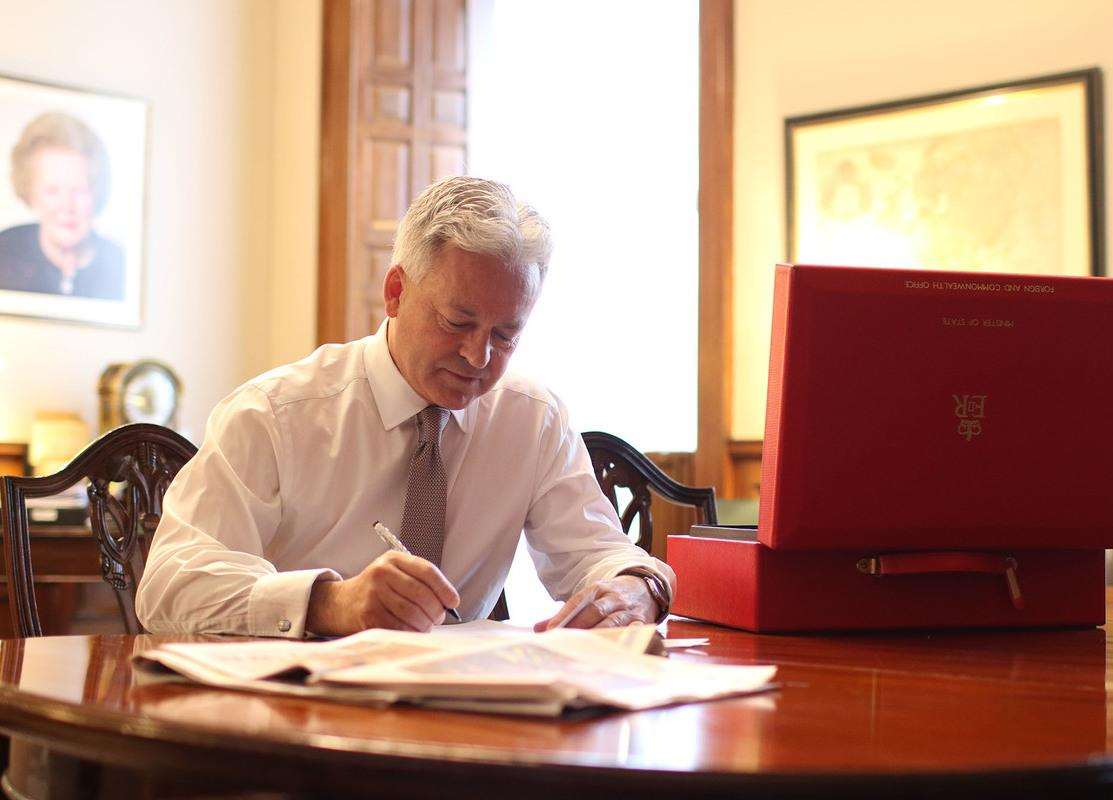 Rutland MP Alan Duncan