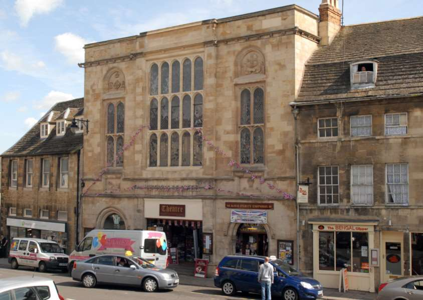 Stamford Corn Exchange Theatre..