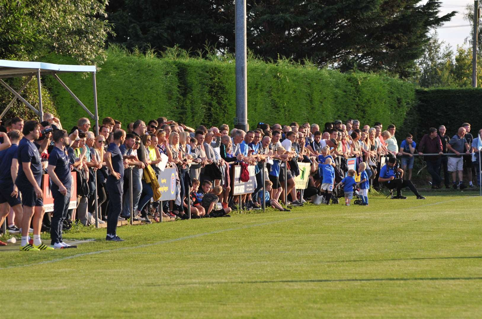 Deeping Rangers attracted a record home crowd for their pre-season clash with Peterborough United. (15287139)