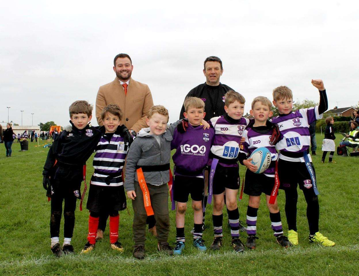 Stamford under sevens get backing from Larkfleet Homes Community Fund
