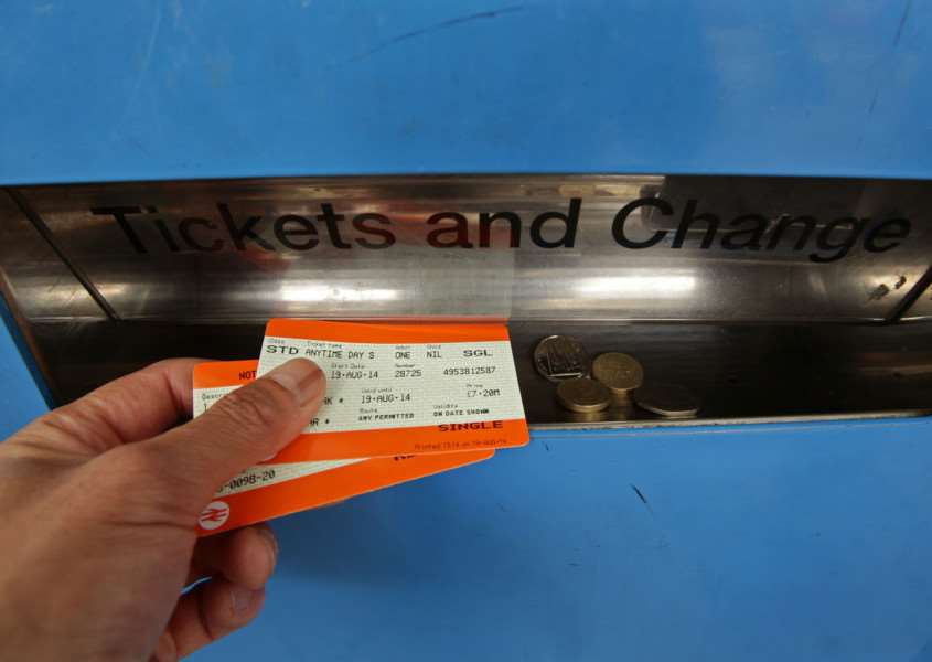 "New report shows that rail fares have risen nearly three times faster than wages over the past five years, leaving commuters ""seriously out of pocket"". PRESS ASSOCIATION"