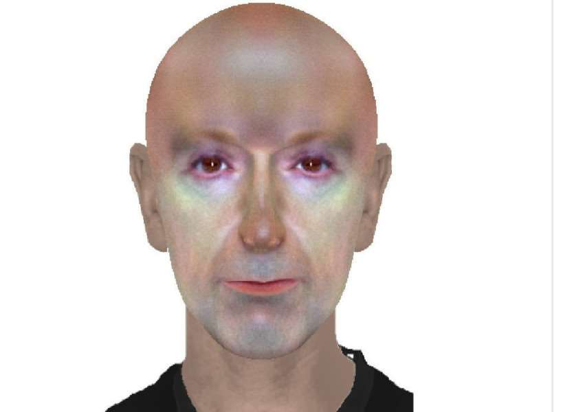 The E-fit by Bourne Police that has been likened to an alien