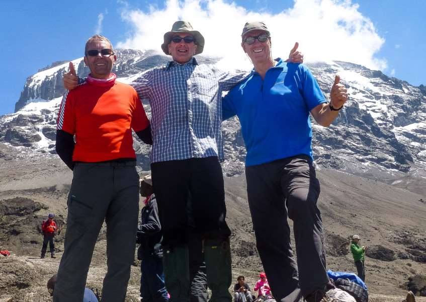 Stamford XT members climbed Mount Kilimanjaro in aid of the NSPCC EMN-161114-140951001
