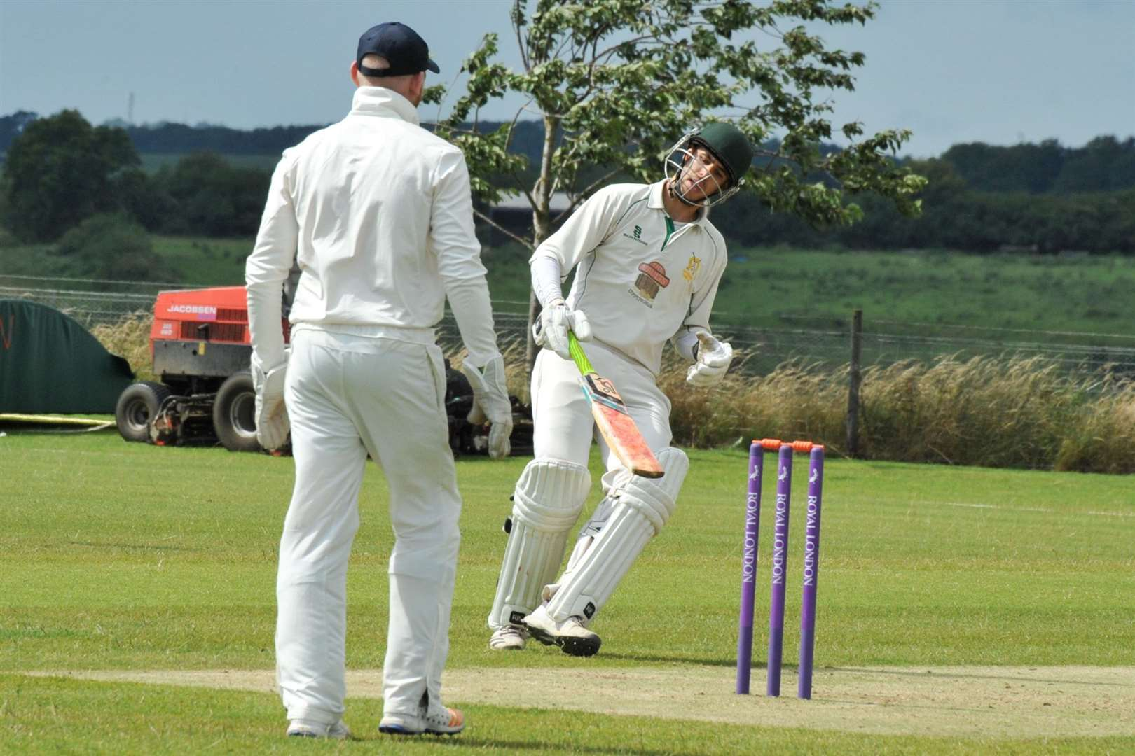 Action from Uppingham's home success over Earl Shilton. Photo: Alan Walters (14134992)