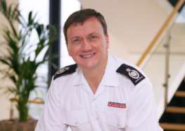 New Chief Fire and Rescue Officer for Leicestershire and Rutland Richard Chandler. EMN-150225-153413001