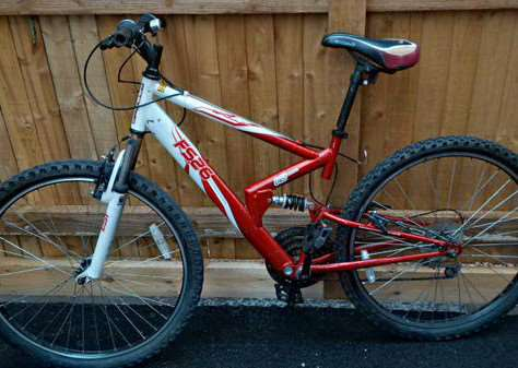 A bike found in Cutts Close, Oakham on August 18. Photo: @RutlandPolice EMN-150818-094757001