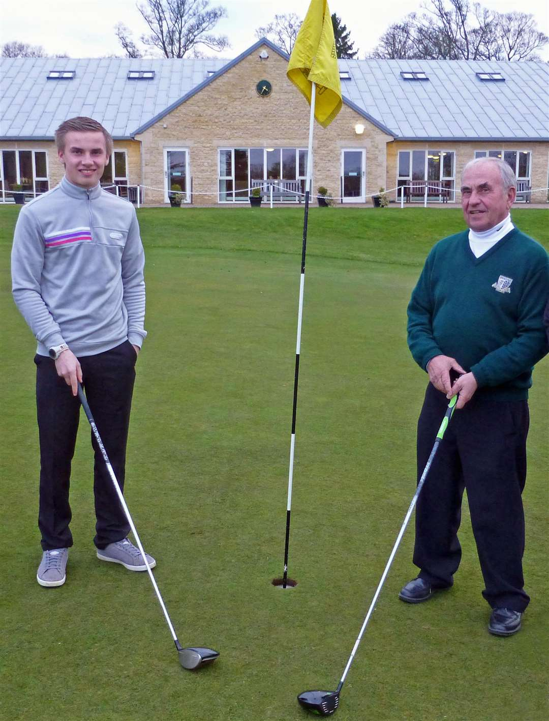 Jordan and John Mayman reached the Winter League quarter-finals at Burghley Park as winners of their division. (7143805)