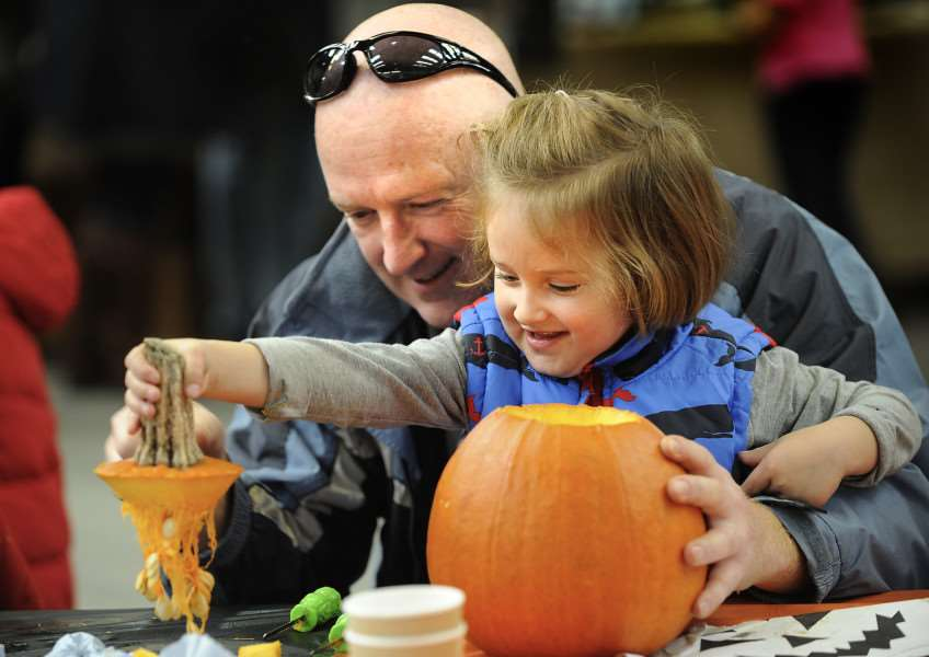 Come along to Pumpkin Day at Riverford EMN-151019-114027001