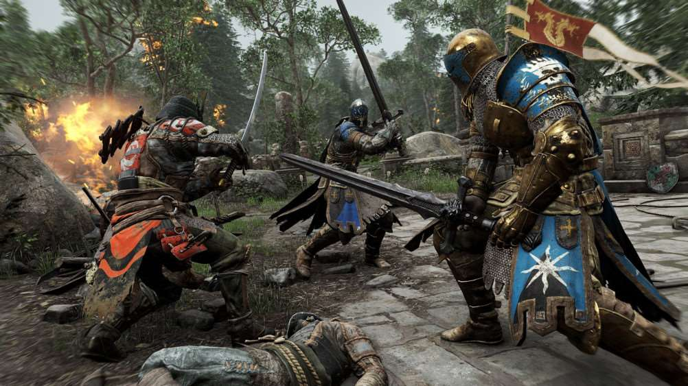 For Honor is Ubisoft's first foray into the hack and slash genre
