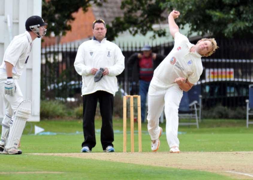 Colin Cheer took five wickets for Bourne against Bracebridge Heath.