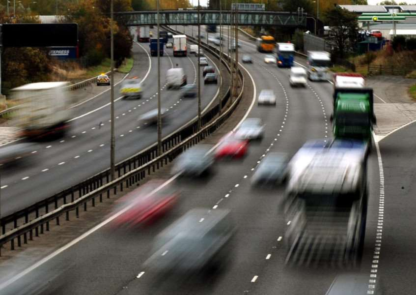 Congestion likely tomorrow as people hit the roads for the bank holiday weekend
