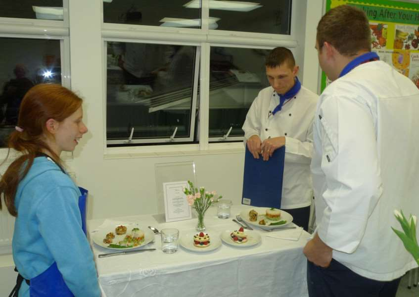 Rotary Club of Stamford's Young Chef competition