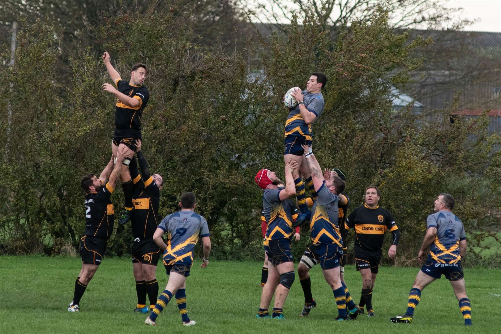 Bourne were 27-19 winners against Oakham. (29044199)