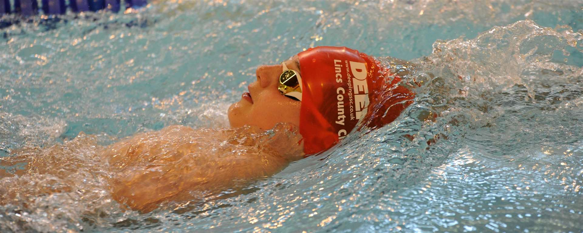 Zack Treharne won three golds at the Fenland Open Meet, swimming three county qualifying times. (2423353)