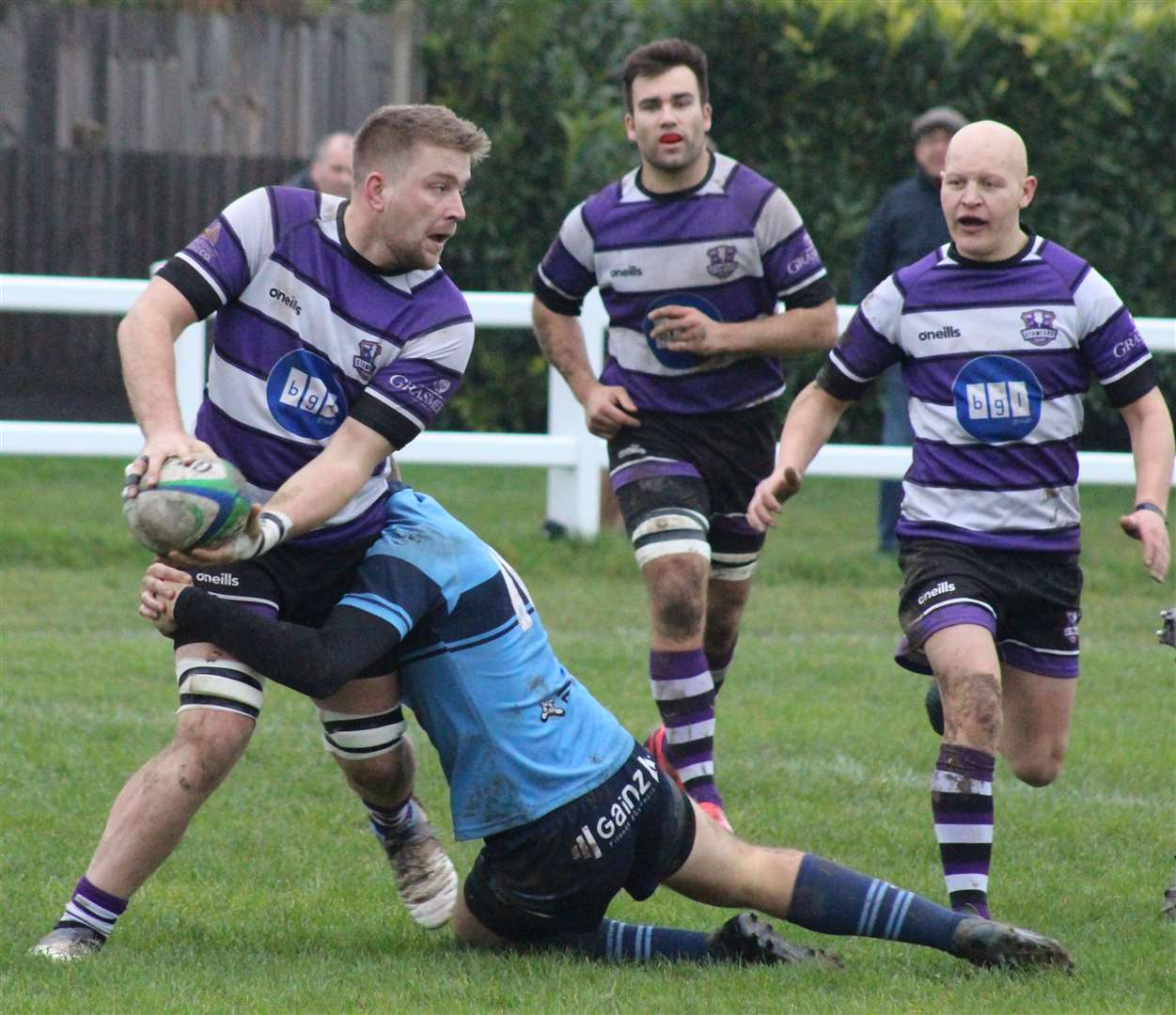 Stamford scored 50 points in Saturday's success against St Neots. Photo: Darren Dolby (22480322)
