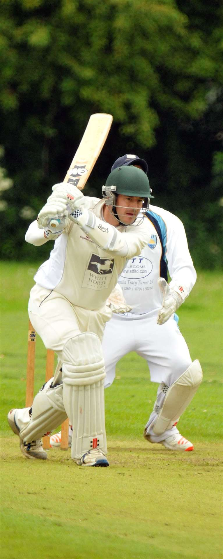 James Tickler made 26 for Bourne 2nds. (10260567)